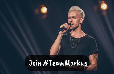 Join #teamMarkus